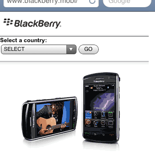 Blackberry Mobi